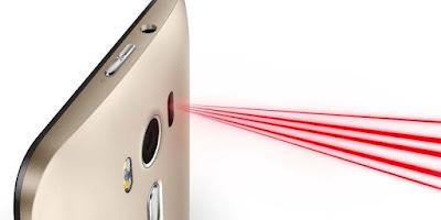 Laser autofocus