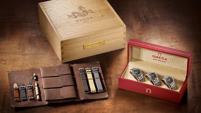 Omega 1957 Trilogy 60th Anniversary