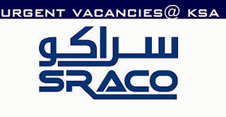 Interview for Large Multiple Vacancies in SRACO, Saudi Arabia | Find