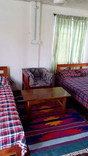Double beds of Cinderella Resort Town, Kuakata