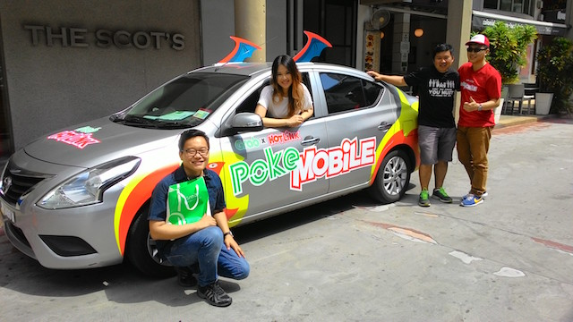 GrabCar Malaysia Discounted Rides For Pokémon Go Trainers