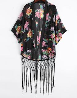 Kimono à franges