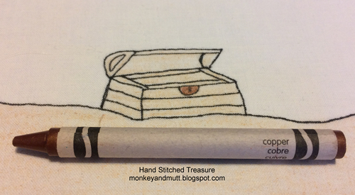treasure chest lock coloring pages - photo#41