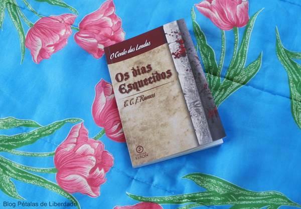 Resenha, capa, livro, Os-dias-esquecidos, TCF-Ramos, Editora-Kiron, o-conto-das-lendas, fantasia, elfos, tolkien