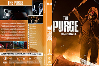 The Purge TV Serie - Cover DVD
