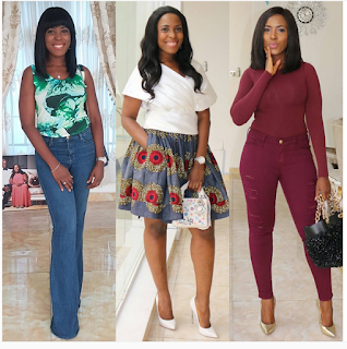 """Which Hairstyle Suits Me Most?"": Linda Ikeji Asks Fans To Select From 3 Photos"