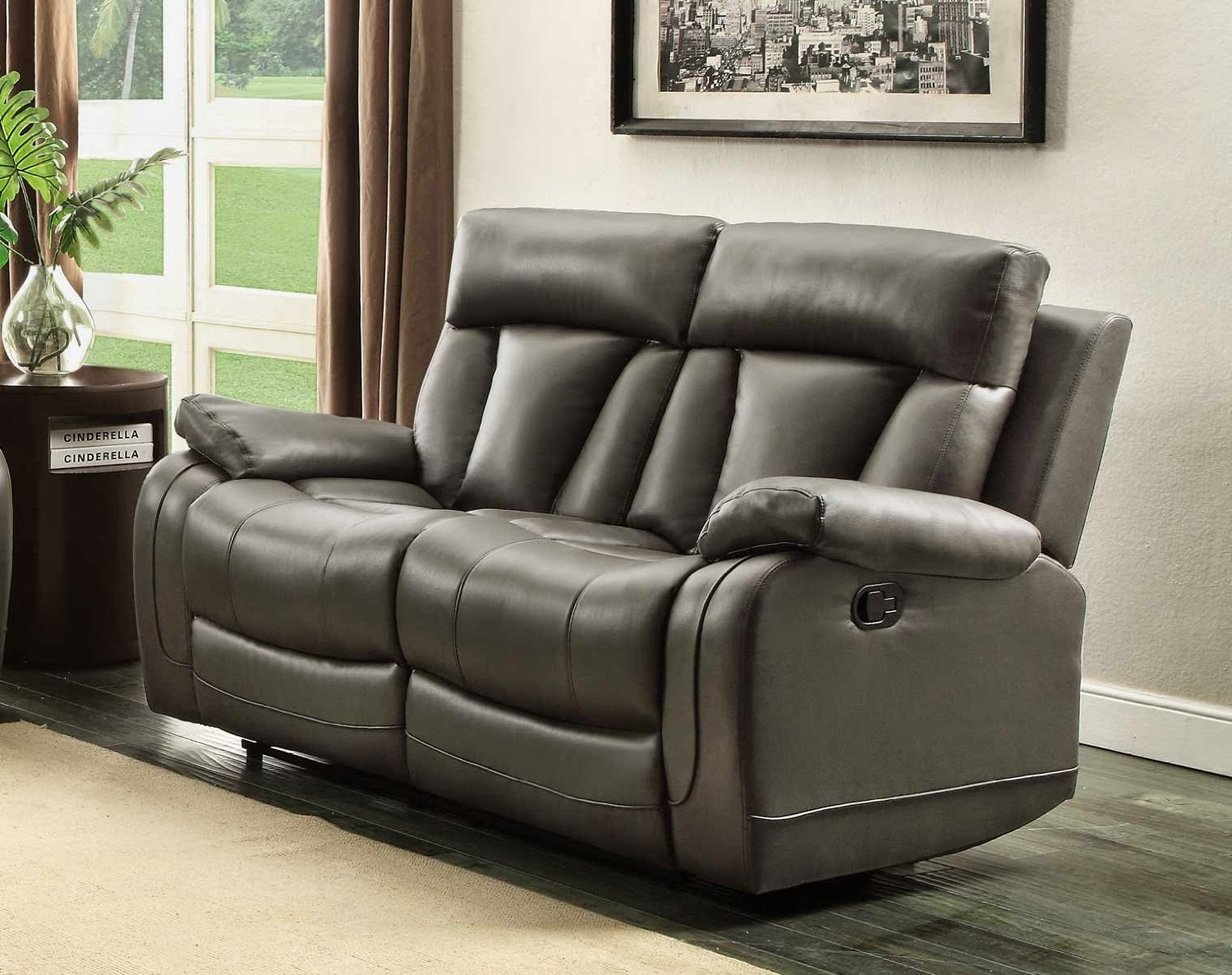 Reclining sofa loveseat and chair sets two seat reclining for 9 seater sofa set