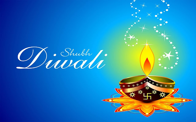 Happy Deepavali Wishes with Rangoli Images