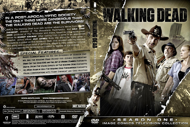 Capa DVD The Walking Dead Primeira Temporada