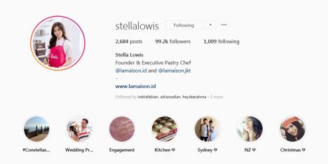 akun instagram chef stella lowis masak bersama barbie resep es teler cupcakes nurul sufitri blogger