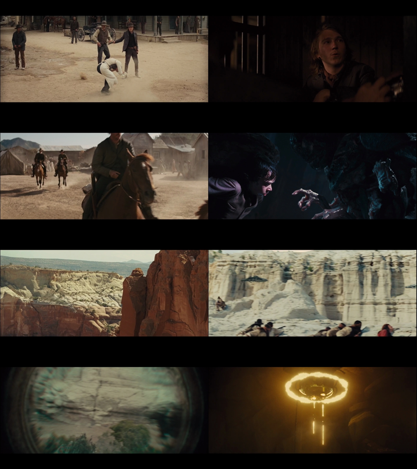 Cowboys y Aliens 1080p Latino