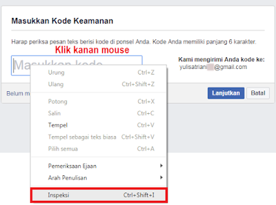 Cara Hack Facebook Dengan Bug Html Inspect