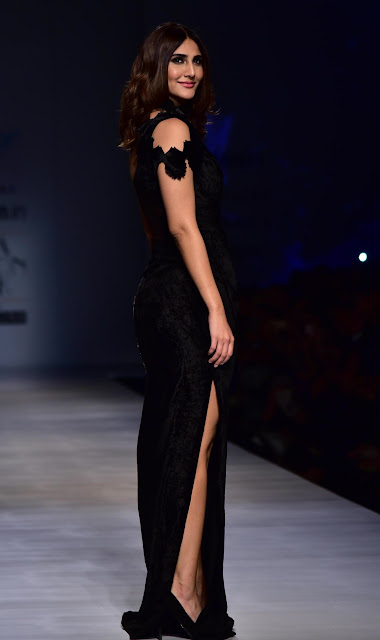 Vaani Kapoor at Amazon India Fashion Week 2017