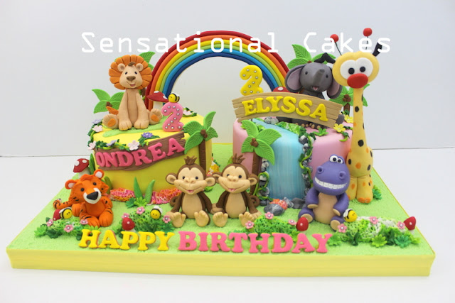 BEST CHILDREN 3D CAKE SINGAPORE