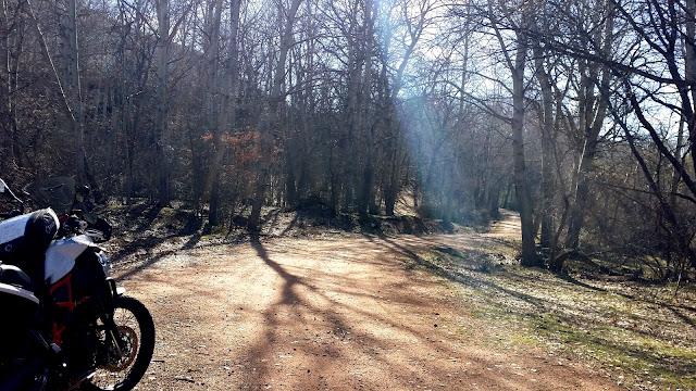 BMWF800GS Trail: Un poco de Románico