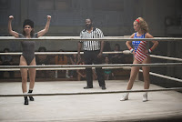 Alison Brie and Betty Gilpin in GLOW Series (1)