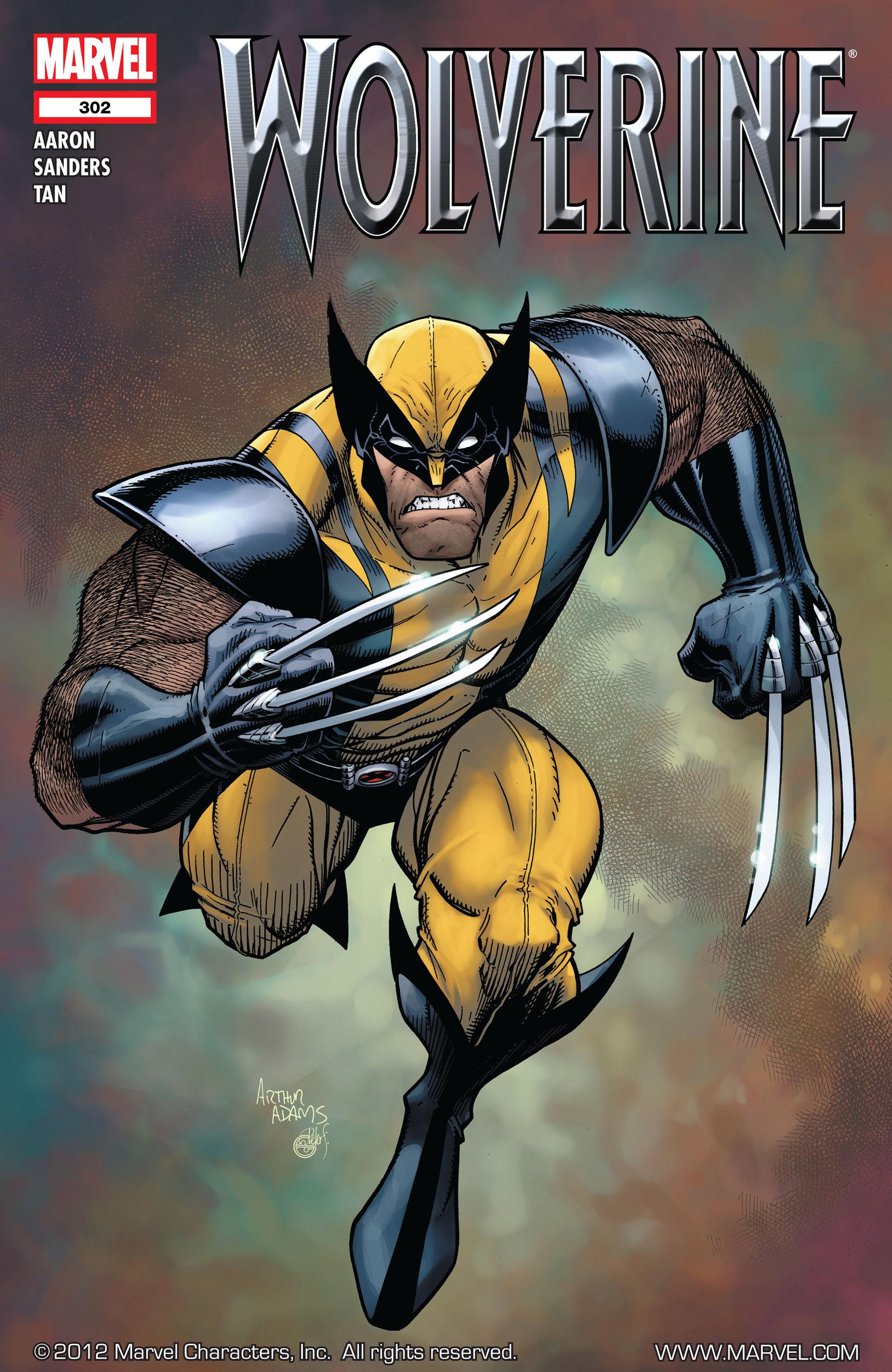 Wolverine (2010) 302 Page 1