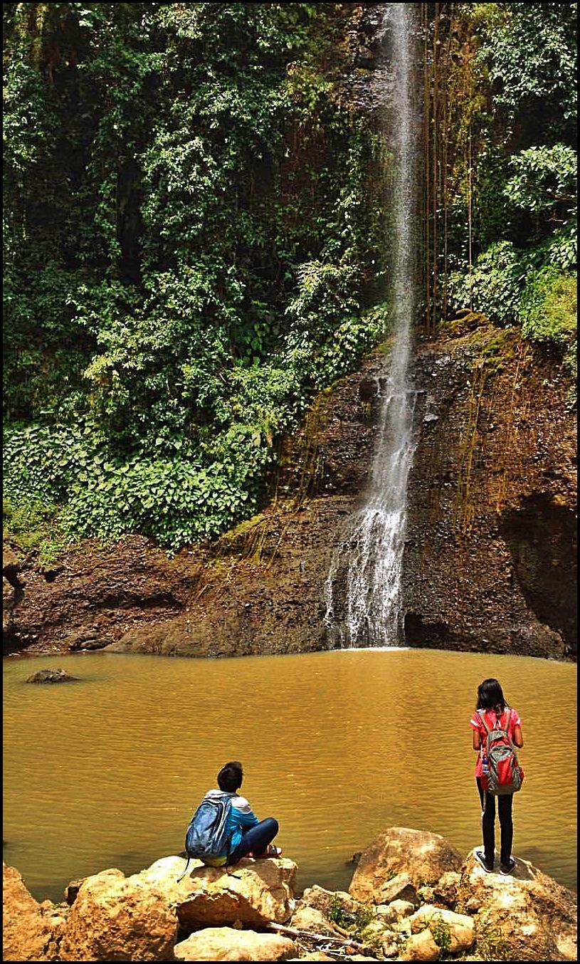 Curug Cipongkor, Potensi Wisata Di Desa Ciherang