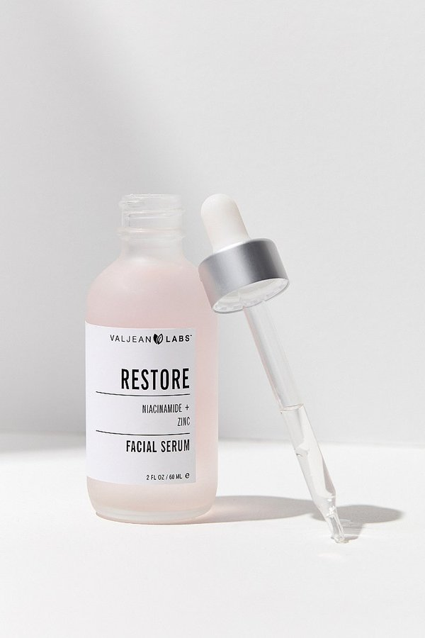 Valjean Labs Facial Serum in Restore and Facial Mist in Glow - Review