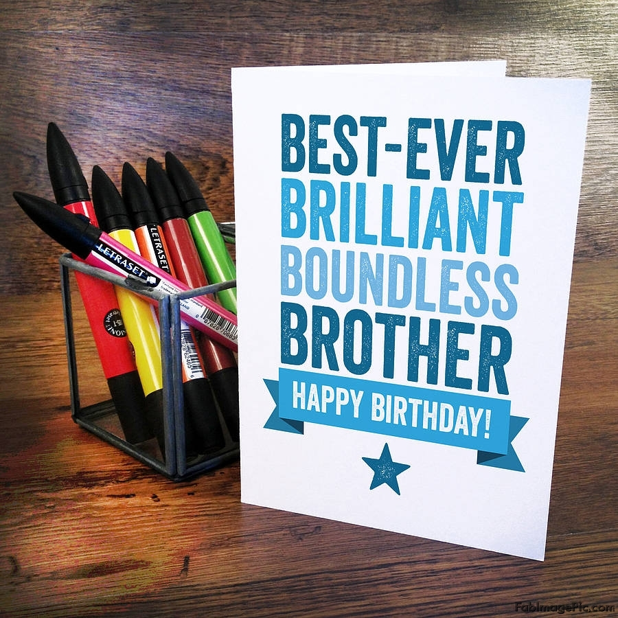 Happy Birthday Brother Birthday For Brotherbrother Birthday Wishes
