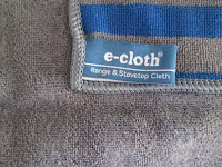 e-cloth designed for cleaning hob and oven surfaces