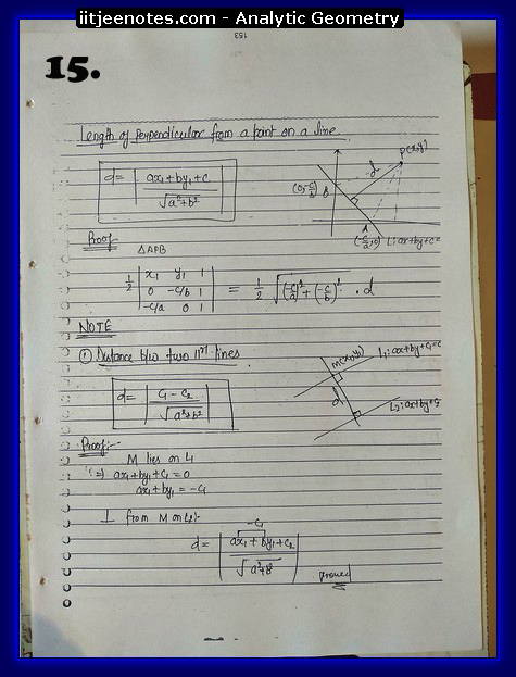 analytic geometry notes3