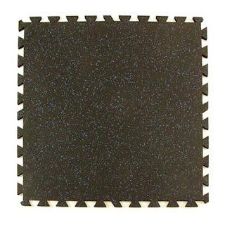 Greamats geneva rubber tile interlocking weight room