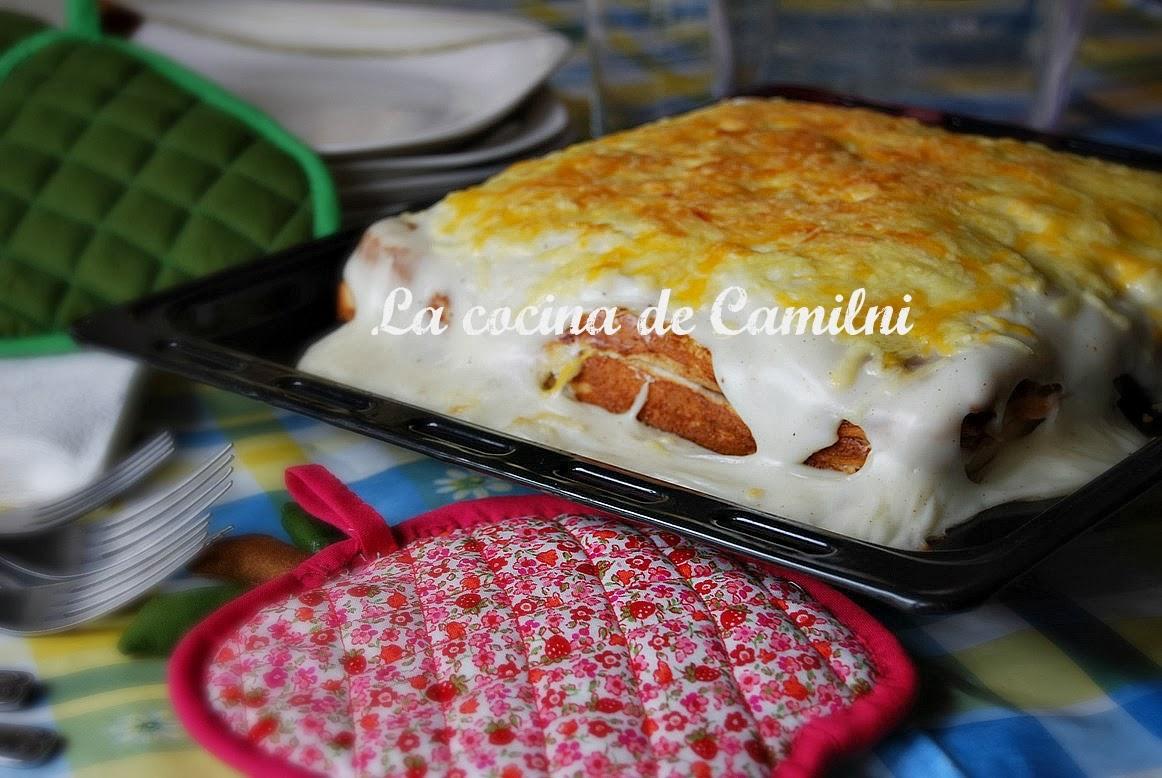 Sandwich al horno especial (La cocina de Camilni)
