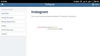 Cara Menghapus Akun Instagram di Android | Iphone Permanen Maupun Sementara