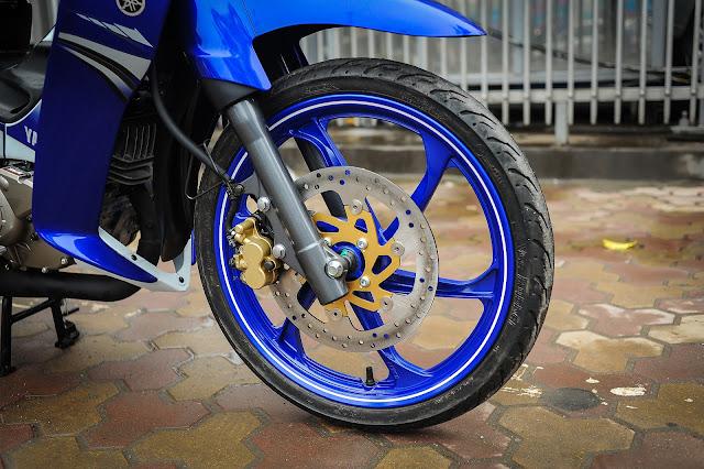 Yamaha Z125 độ cực ngầu tại Sài Gòn 2