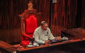 First time in parliamentary history Engineer sits in Speaker's Chair