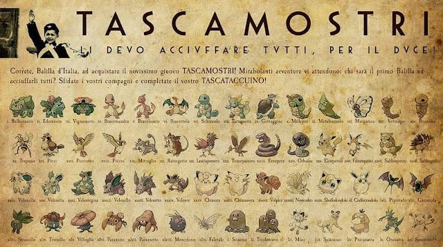 L'Asse vince la guerra... e i Pokémon?