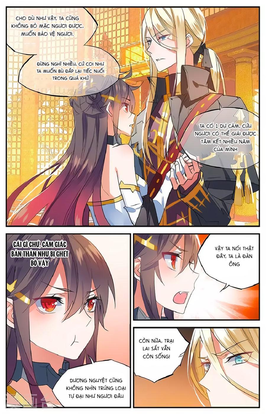 Nữ Nhân Dũng Cảm chap 61 - Trang 16