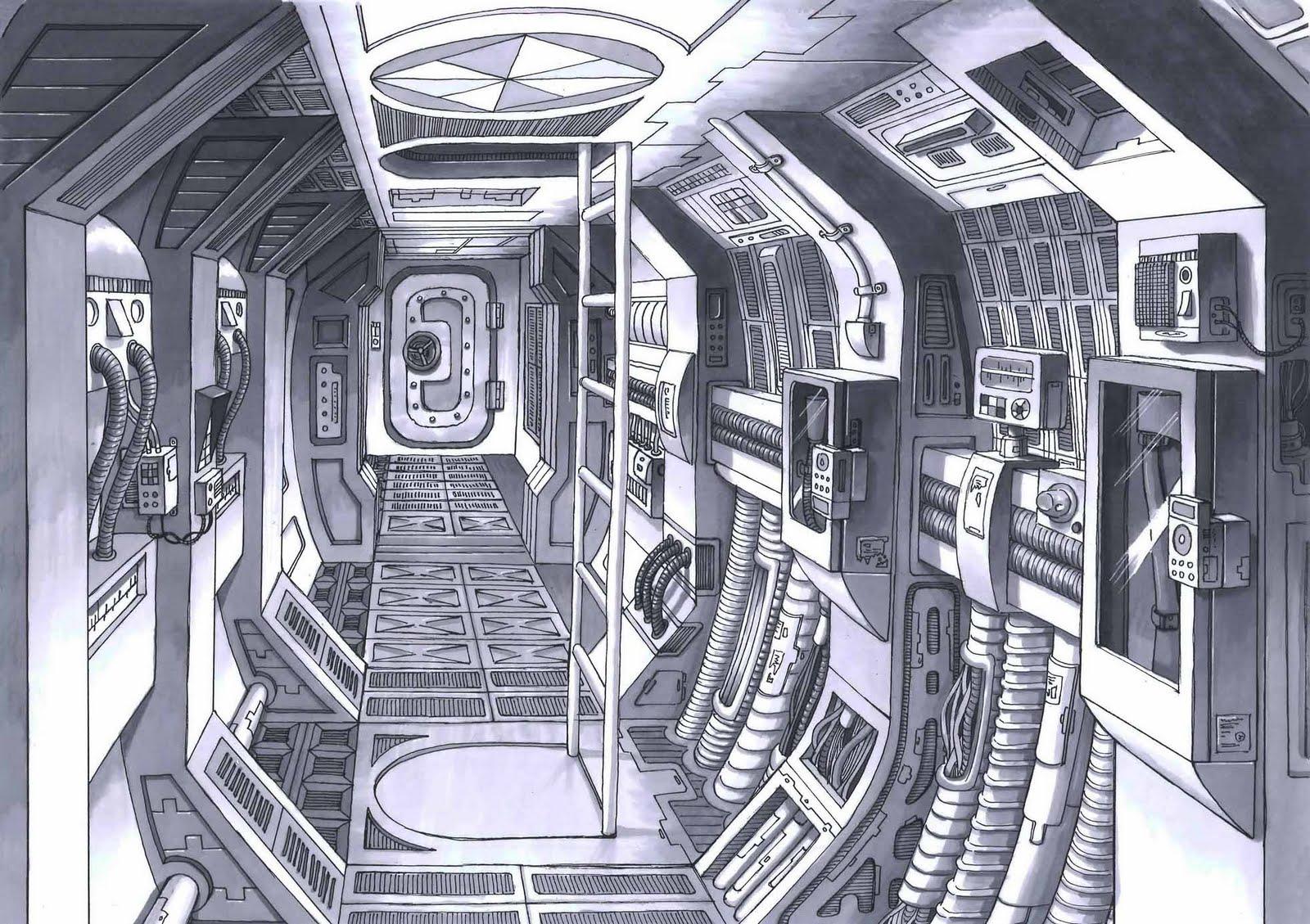 future spacecraft interior - photo #26