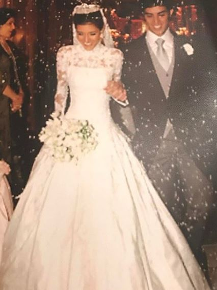 Maria Rudge e Otávio Piva casamento