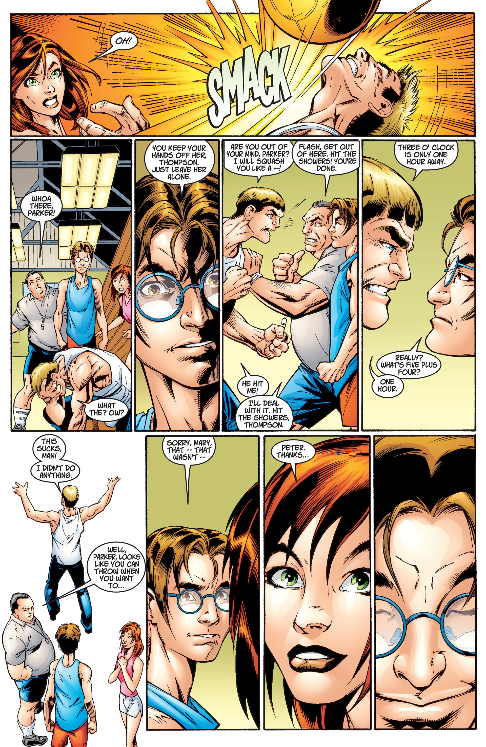 Read online Ultimate Spider-Man (2000) comic -  Issue #2 - 7