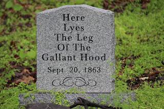 john hood's leg