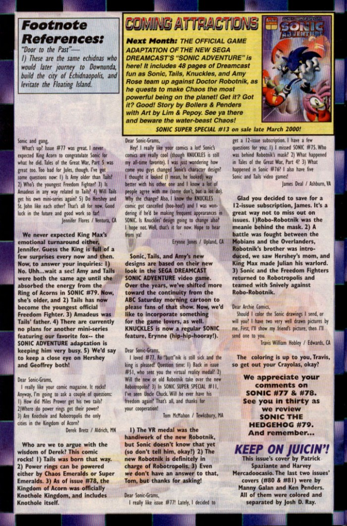 Read online Sonic The Hedgehog comic -  Issue #82 - 24