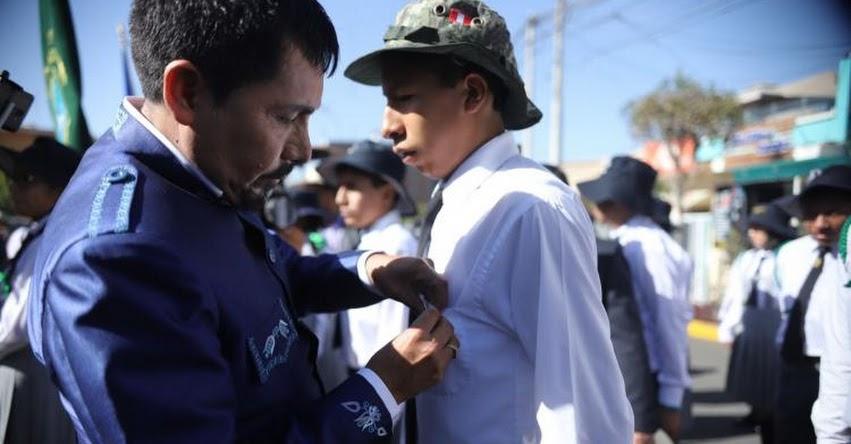 Más de 600 escolares de Arequipa forman brigadas para cuidar el medio ambiente