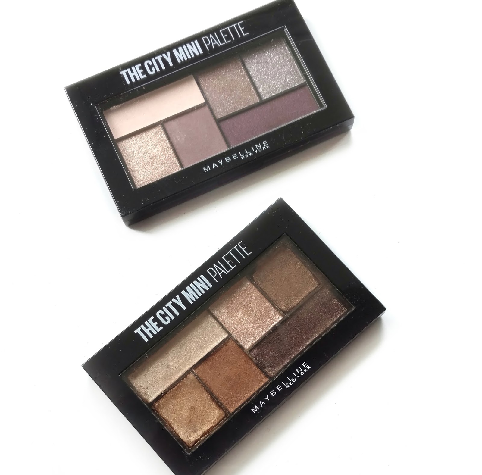 Maybelline City Mini Eyeshadow Palette Review Swatches Beauddiction