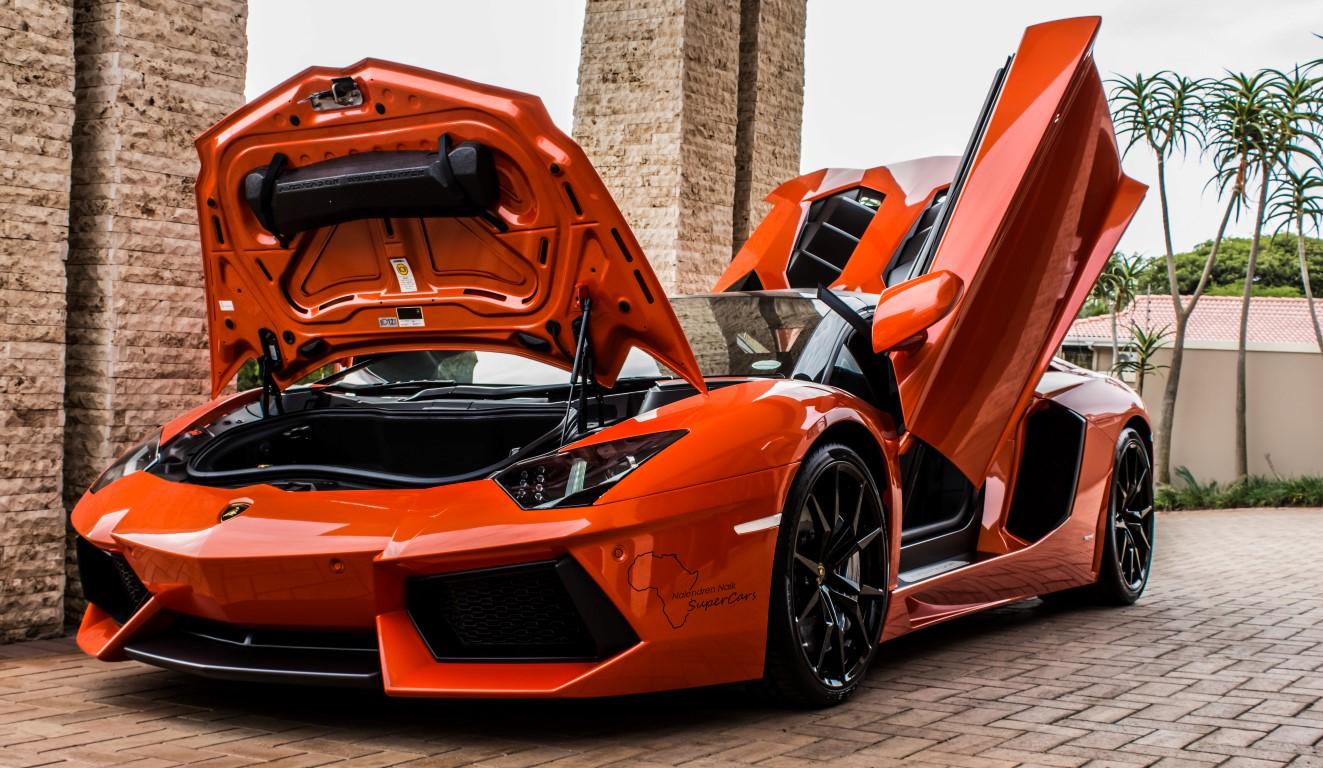 Photoshoot Double Lamborghini Aventador Roadsters In Durban South