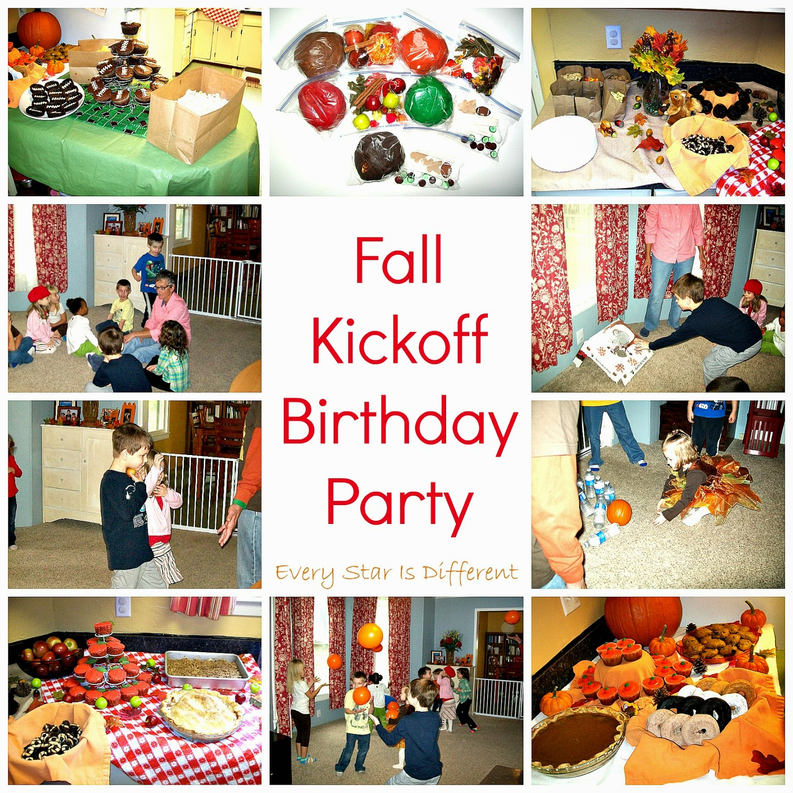 A Fall Kickoff Birthday Party