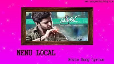 nenu-local-telugu-movie-songs-lyrics