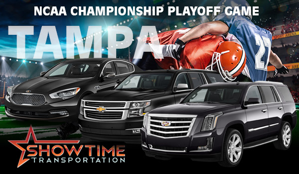 2017 Tampa CFP National Championship Limo Services