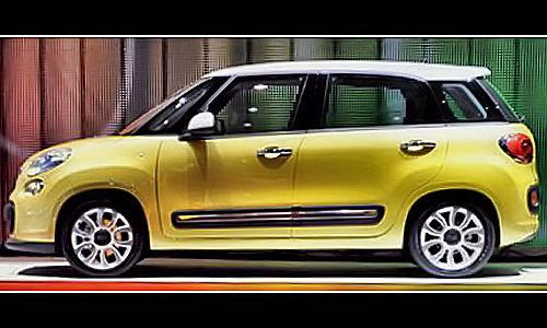 Gucci Fiat 500 >> 5ooblog | FIAT 5oo: New Fiat 500 L MPV Colors & Bicolor - III