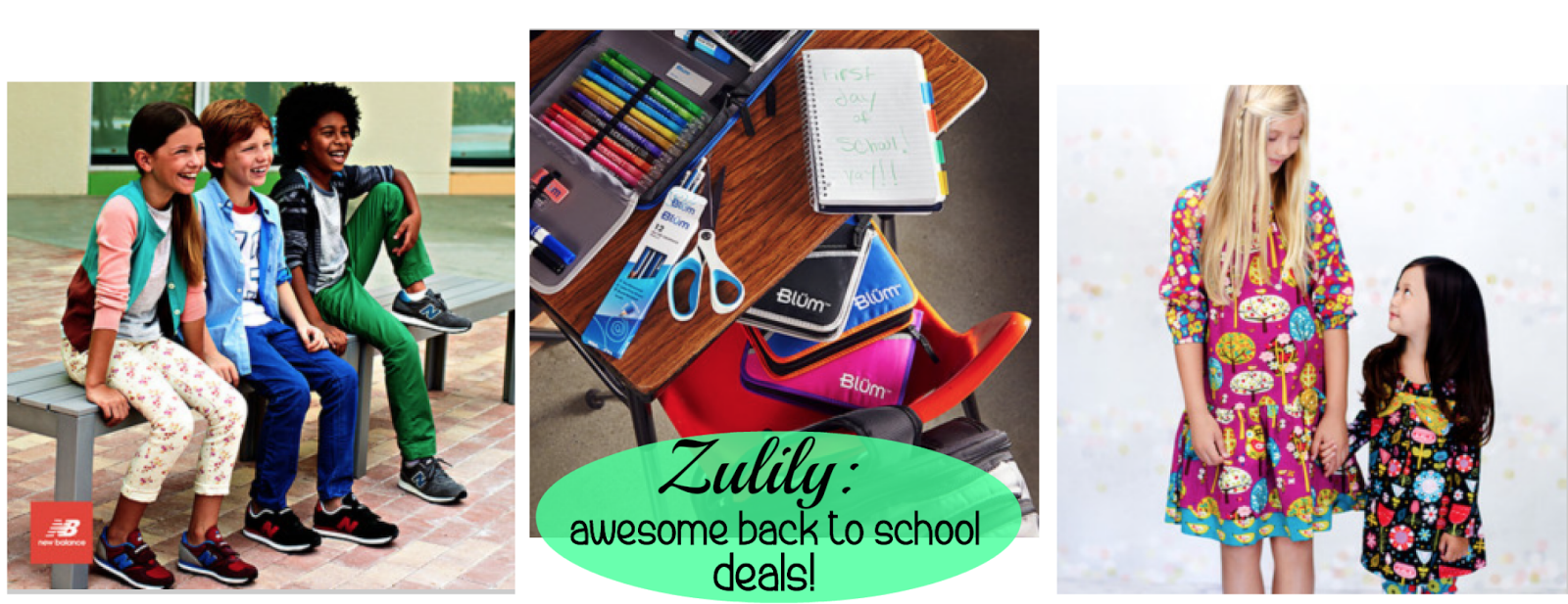 Zulily:  Back to School Clothing, Shoes & School Supply Deals!