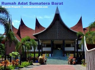 Desain Bentuk Rumah Adat Gadang dan Penjelasannya, Rumah Adat Sumatera Barat