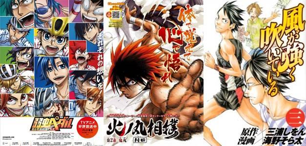 anime olahraga paling keren tentang sepakbola basket voli