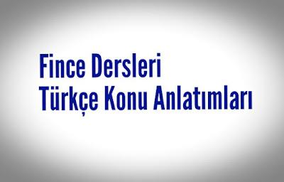 Fince dersleri, Türkçe Fince konu anlatımları, Opi Suomea