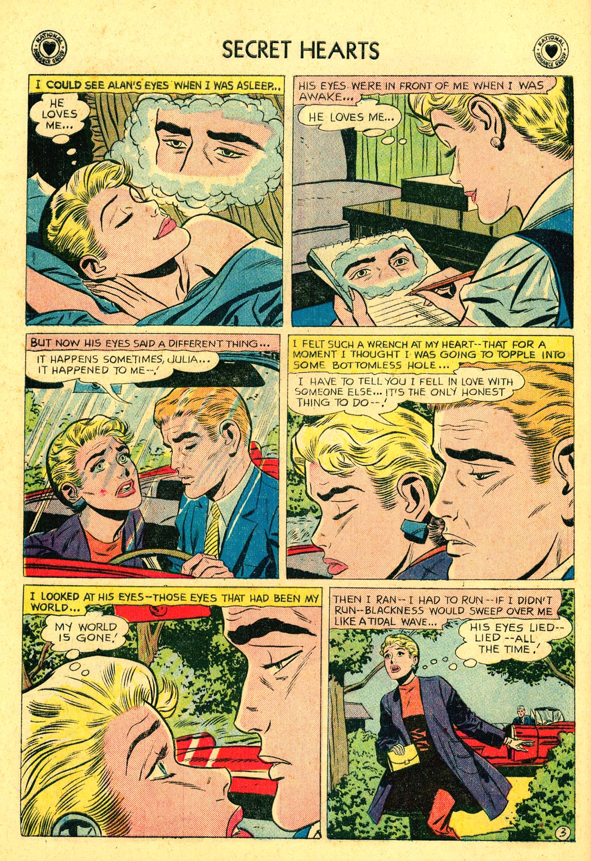 Read online Secret Hearts comic -  Issue #54 - 12